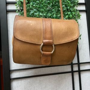 FOSSIL Vintage Leather Crossbody Bag Purse